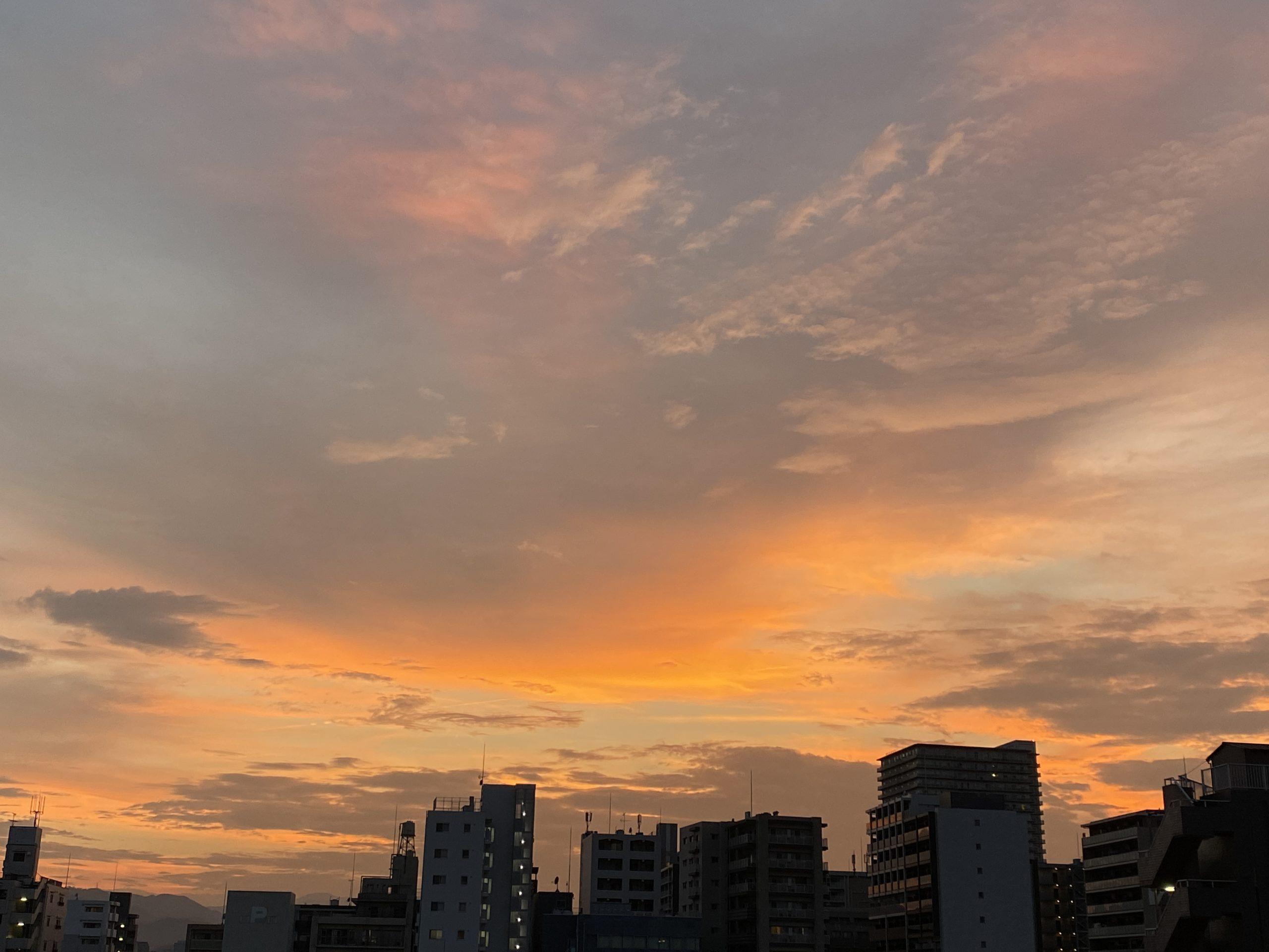 0816 夕焼け